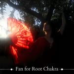 Fan for Root Chakra