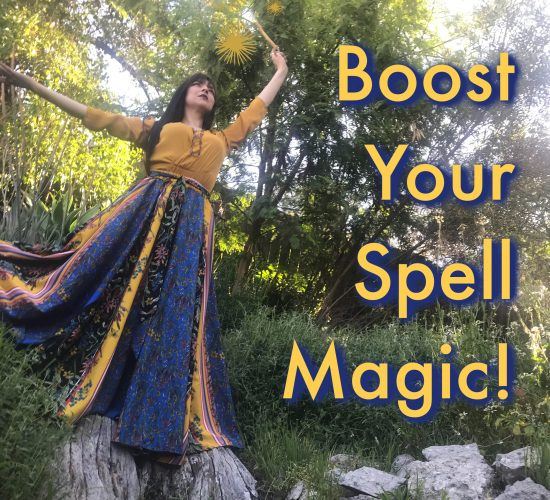 Boost you spell magic, an Audio guide with witch tips and tricks